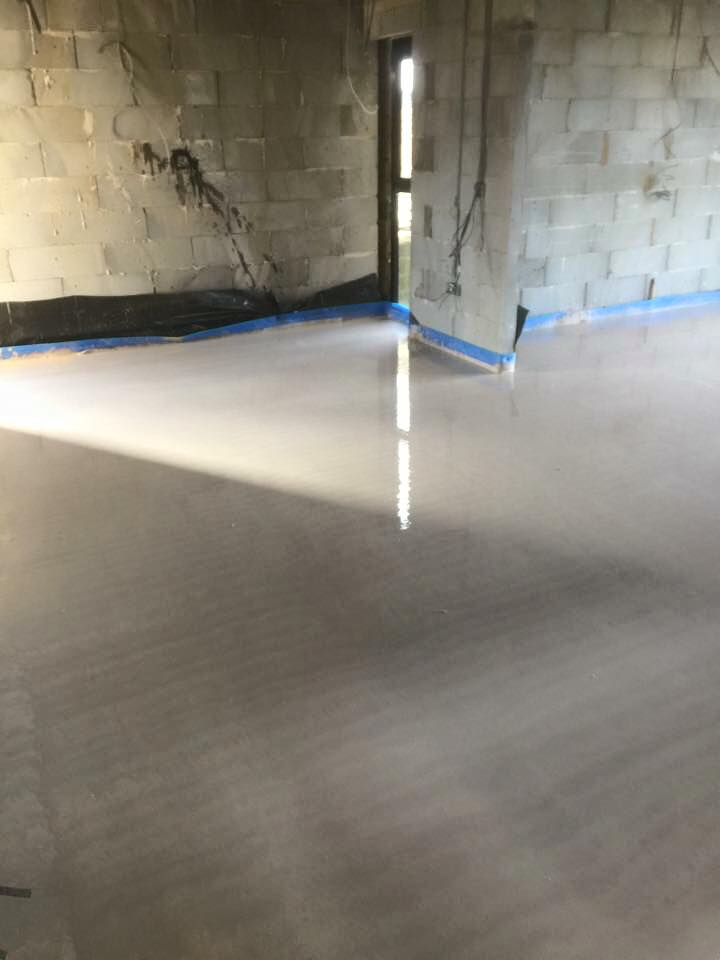 Sand and Cement Screed
